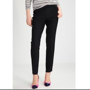 J crew black  stretch  pants sz 4